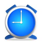 Clock Blue