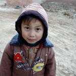 Rural village boy