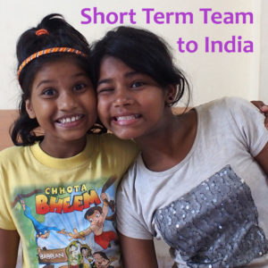 volunteer in our team to India