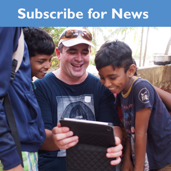 Australian man helping 2 boys in India care home