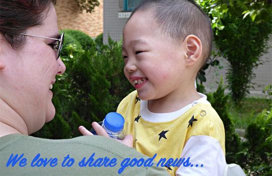 heart for kids volunteers with kids