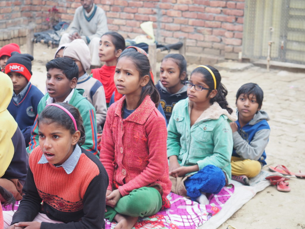 Heart for Kids children in child development centre class
